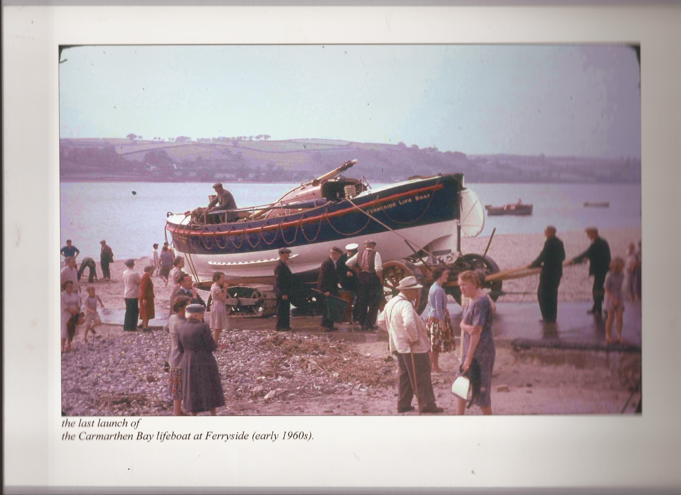 Last launch of the RNLI lifeboat in 1960